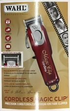 Brand New Wahl Professional 5-Star Magic Clip Cordless Clipper MSRP $109.99