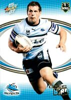 ✺New✺ 2007 CRONULLA SHARKS NRL Card GREG BIRD