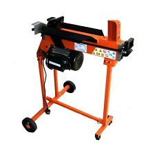 FAST LIGHTWEIGHT COMPACT 5 TON ELECTRIC HYDRAULIC LOG SPLITTER TROLLEY STAND