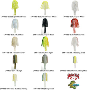 Strike King Replacement Skirts PFT32 Perfect Magic Tails Any 14 Jig Bait Colors