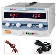Pro Variable Adjustable 50V 20A DC Power Supply Digital Regulated Lab Grade NEW