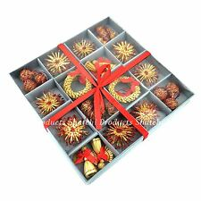 36pcs Hand Crafted Christmas Tree Hanging Ornament Decorations Xmas Home Decor