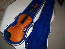 Violin 4/4 Struna Model 220 w/case for restoration or parts
