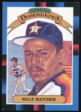 1988 Donruss Diamond Kings #23 Billy Hatcher Houston Astros