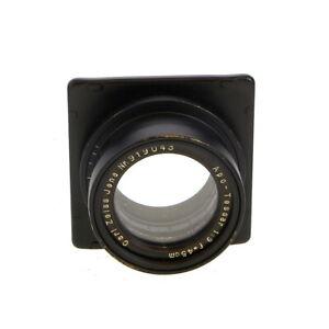 Vintage Carl Zeiss Jena Apo-Tessar 45cm F/9 (450mm) Barrel Lens - UG