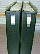 Canada, Fantastic Stamp Collection hinged/mounted on pages(2 binders)