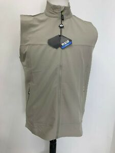 Bolle Golf Mens Active Stretch Water Repellent Performance Storm Vest NWT