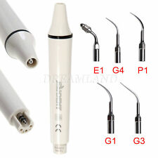 Dental Manipolo Ablatore Ultrasonic Scaler Handpiece EMS WOODPECKER + 5 Tips SP