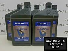 chevrolet automatic gearbox 6t30 6t40 6t45 genuine aisin atf oem type 4 oil 5L