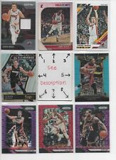 Miami Heat  Serial #'d Rookies Jerseys Autos  EVERY CARD IS A GOOD CARD * FINALS