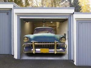Effektbild für Garagentore - American Car