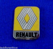 classic HAT PIN  - LAPEL - pin - RENAULT - overlay ENAMEL processed pin
