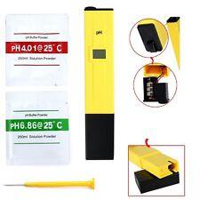 0-14 Digital PH Wert Wasser Messgerät Messer Tester Meter Aquarium Pool Prüfer
