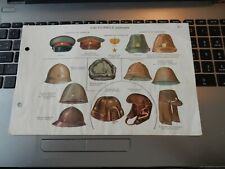 More details for 日本軍の制服タイプ nippongun no seifuku taipu  ww2 japanese army french id plates hats
