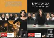 LAW & ORDER SVU - Special Victims Unit Complete Season 15 & 16 : NEW DVD