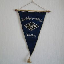 DDR Wimpel - DTSB - Agfa - Betriebssportgemeinschaft Wolfen
