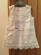 Bnwt Gorgeous Baby Girls Monsoon Dress 6-12 holiday pretty summer