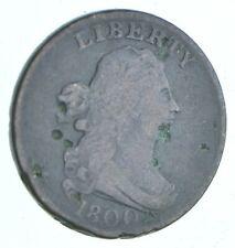 1/2c - HALF CENT - 1800 Draped Bust United States - Half Cent *253