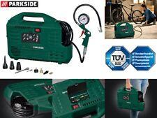 Parkside Kompressor PKZ 180 C3 Druckluft 1100 W tragbar 8 bar mit Tank Ausblasen