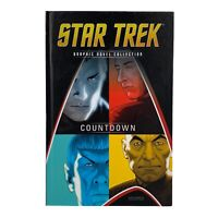 "Star Trek Graphic Novel Collection ""COUNTDOWN""  IDW Eaglemoss Hardcover Vol 01"