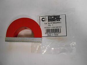 """Eclipse Magnetics 55 Lb. Pull Alnico 5 Horseshoe Magnet 3"""" W  QTY 2   M19622/MSC"""