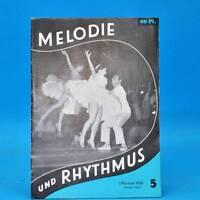 GDR Melody and Rhythm 5/1958 Rbo Leipzig Erich-Weinert-Ensemble Zittau Loney