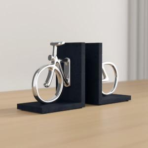 Cycle Non-skid Bookends