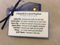 I love you Keepsake gift for my boyfriend Birthday male lover gift for him men