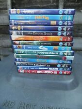 DISNEY DVD COLLECTION PETER PAN/ARISTOCATS/ALADDIN/BEAUTY/BEAST/TARZAN