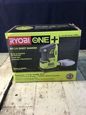 Ryobi P440 18-Volt ONE+ Cordless 1/4 Sheet Sander (Tool-Only) with Dust Bag