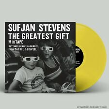 Sufjan Stevens Greatest Gift YELLOW VINYL LP Record carrie & lowell outtakes NEW