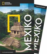 NATIONAL GEOGRAPHIC Reiseführer Mexiko mit Maxi-Faltkarte von Jane Onstott (2017, Taschenbuch)