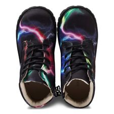 Brand New Akid Lightning Canvas Zip Boots Sz US 10 EU 27