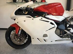 Carena MV Agusta F4 2004 2009 front fairing tail fender parts raw Hugger