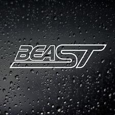 BeaST Car Sticker - Focus Fiesta Mondeo ST Window Bumper Modified 180 ST225