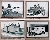 1936 Palestine CIGARETTE CARDS PHOTO ALBUM Jewish DEFENSE Israel NOTRIM BOOK