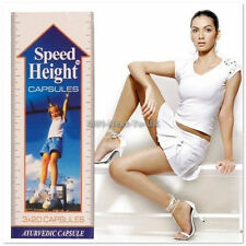3 X SPEED HEIGHT Capsules Grow Taller Gain Height Herbal Ayurvedic Naturally