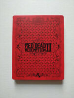 Red Dead Redemption 2 PS4 Steel Book Case Only No Game