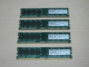 Apacer DDR2 2GB (4 X 512MB) PC2-4300 CL4 DDR2-533 TEST OK!
