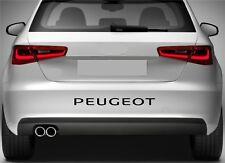 Rear Bumper Stickers Fits Peugeot 106 206 306 Decal Premium Quality XZ73