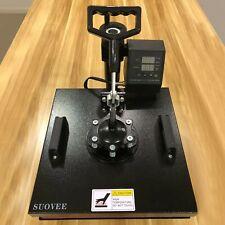 Suovee 8 In 1 Heat Press Machine 15x15 Inch Swing Away Heat Transfer Comb Shirt