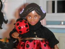 Dollhouse Halloween Little Kelly Lady Bug Costume Barbie & Lady Bug Magnet