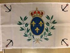 DRAPEAU Marine Royale Sacre COEUR ROYAL CHOUAN ROI FRANCE VENDEE CATHOLIQUE