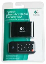 Logitech Squeezebox Radio Rechargeable Battery Pack and Remote