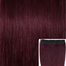 """US Clip In Remy Real 100% Human Hair Extensions One Piece 18""""-22"""" 50G+ hq"""