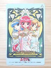 RARE CLAMP Magic Knight Rayearth Phone card Japan Anime/866