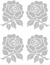 Rose Etch Effect, Frosted Vinyl Window Sticker, Decal HSEtchro1
