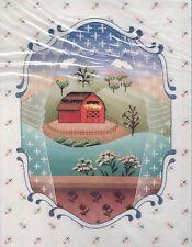 "Janlynn NeedleArt Prints Embroidery Kit #35-227 The Window NEW 14x18"" Ann Benson"