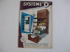 SYSTEME D N°205 1/1963 PORTE DE CLOTURE EN BOIS MEUBLES D'ENFANTS SONNERIE ALARM