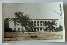 1942 Rppc Postcard University Of Hawaii Honolulu Wwii Censorship Cancellation